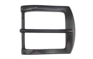 Schwarze Gürtelschnalle für Gürtel 5cm breit