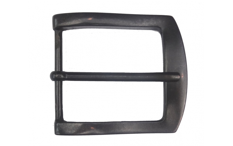 Schwarze Gürtelschnalle 5cm