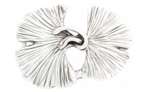 Gürtelschnalle Ginkgo