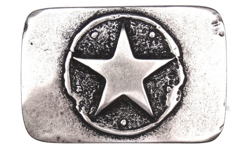 Gürtelschnalle mit Stern
