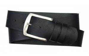 Herren Gürtel 50 mm breit aus Büffelleder schwarz