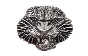 Gürtelschnalle Tiger - Kopf