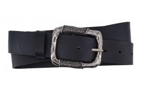 Damen Gürtel für Jeans in schwarz