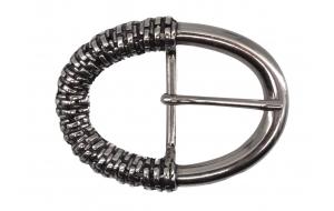 Ovale Gürtelschnalle für Wechselgürtel